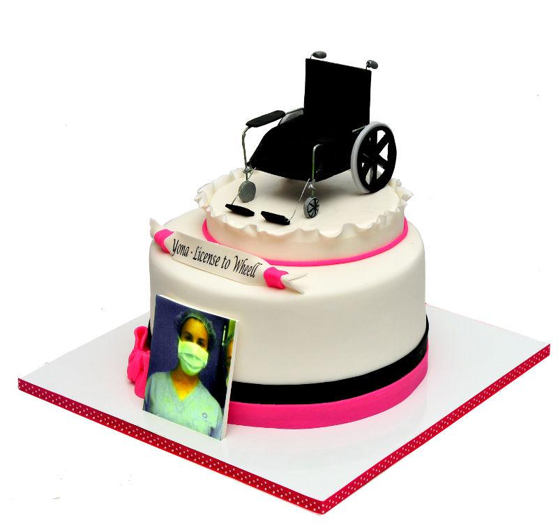 עוגת סיום תואר אחיות