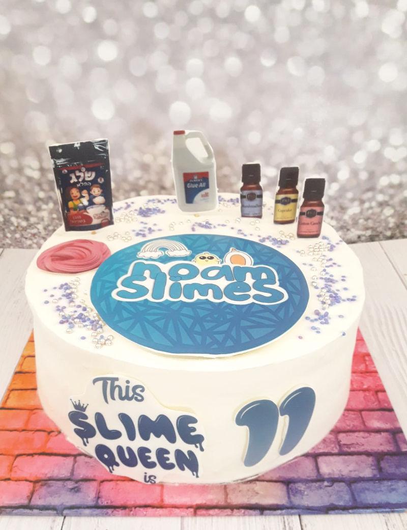 עוגת סליים מעוצבת