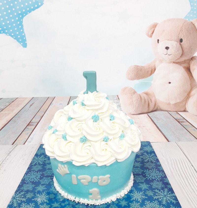 עוגת סמאש קייק לבן