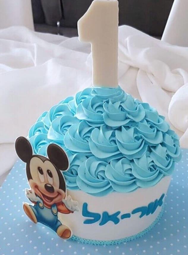 עוגת סמאש קייק של מיקי מאוס