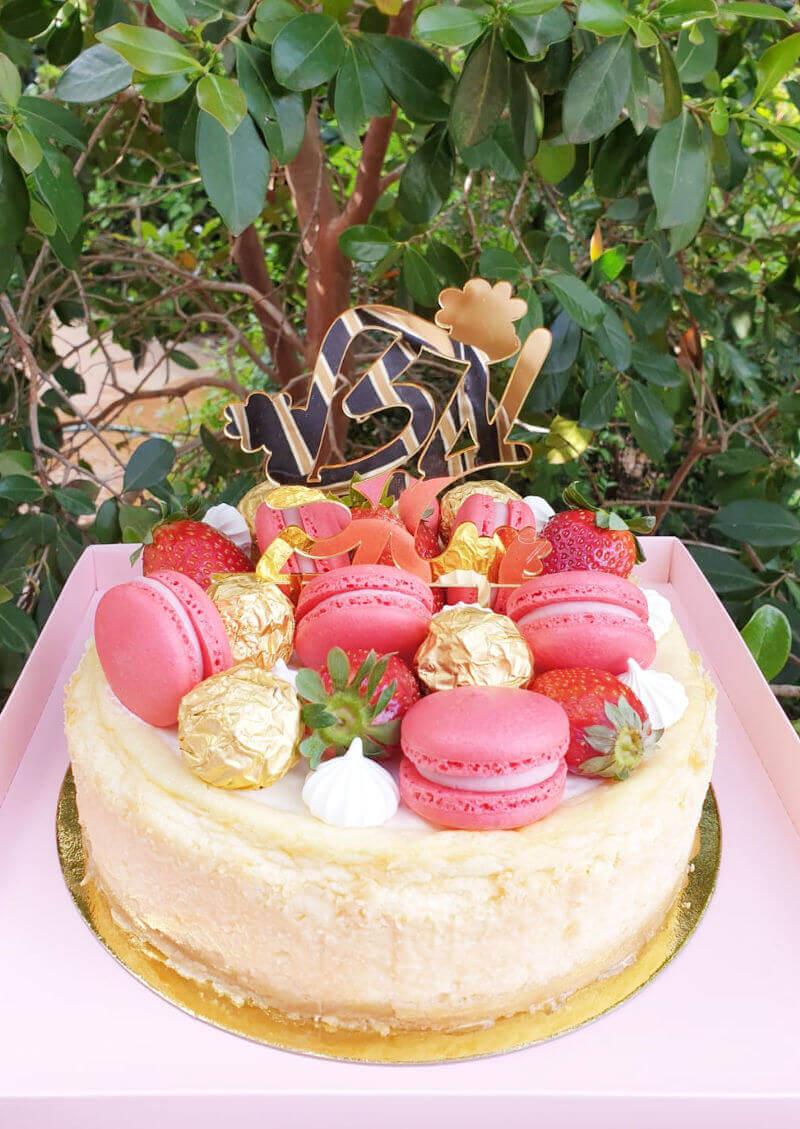 עוגת יום הולדת של שבועות