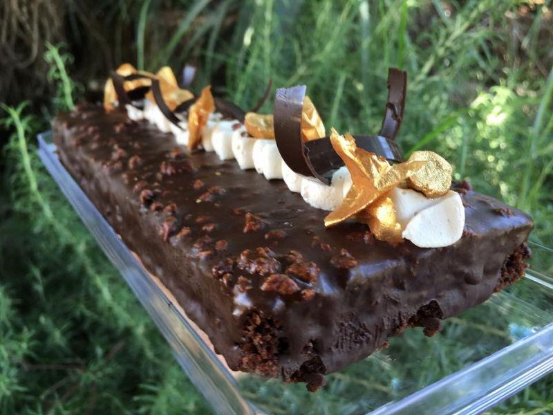 עוגת פאדג שוקולד
