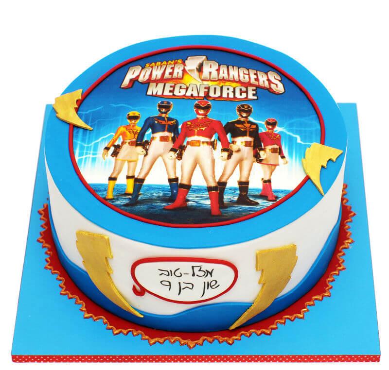 עוגת גיבורים פאוור רינגרס