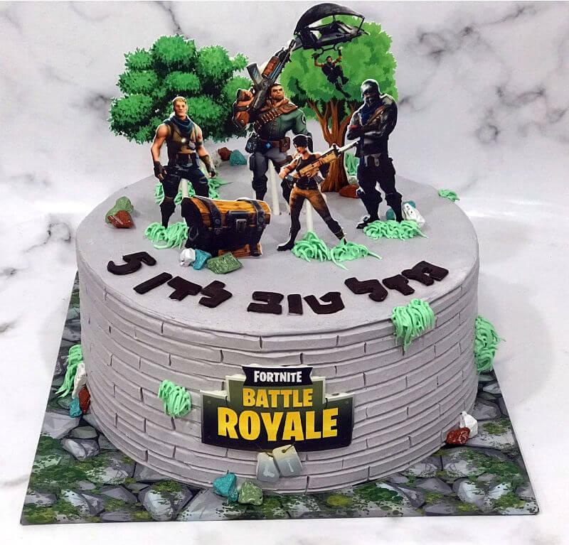 עוגה של פורטנייט