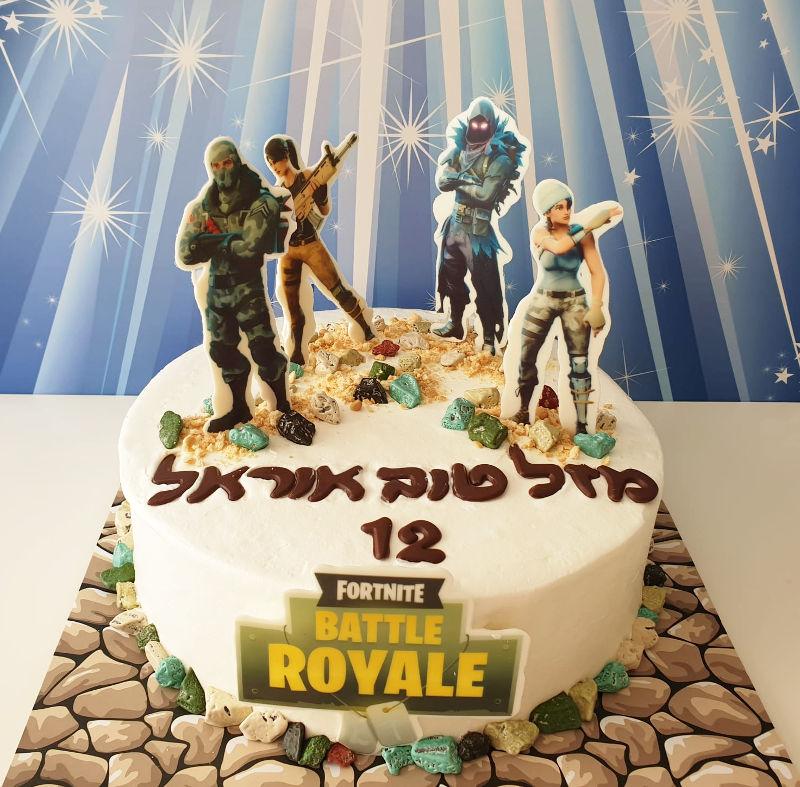 fortnite עוגת פורטנייט
