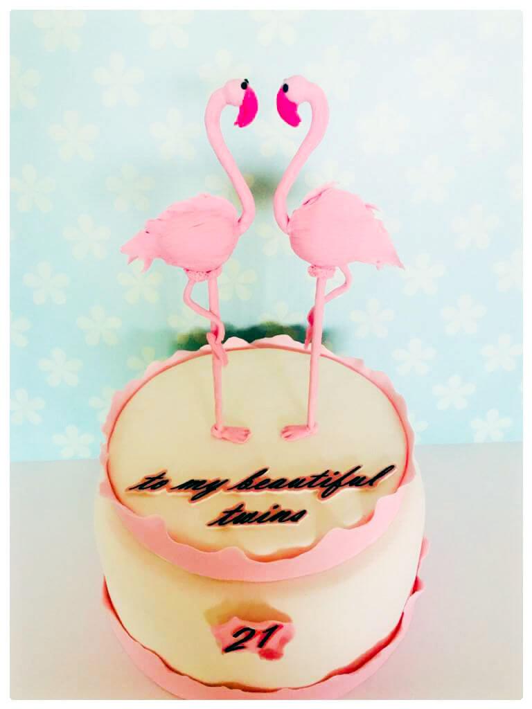 עוגת פלמינגו לבת