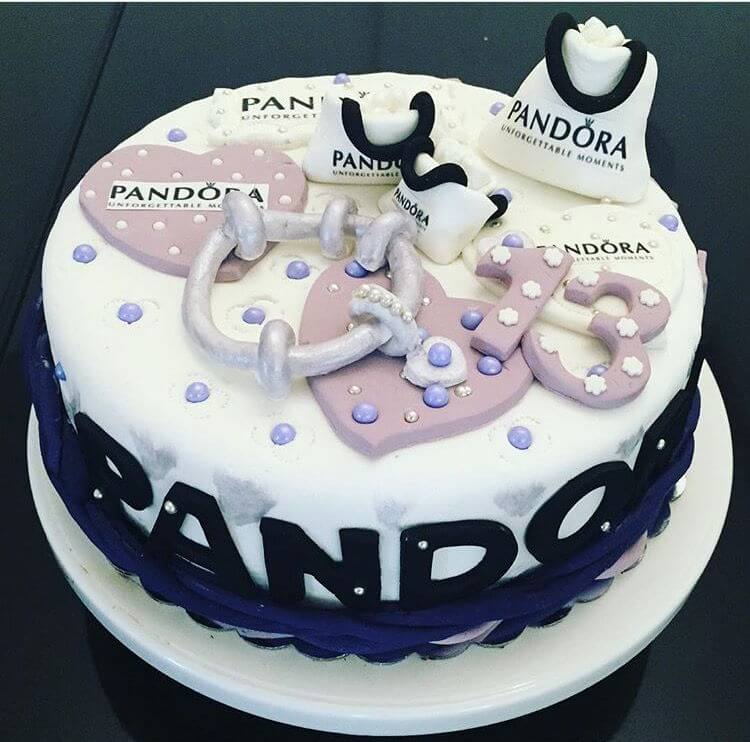 עוגת פנדורה ליום הולדת 13