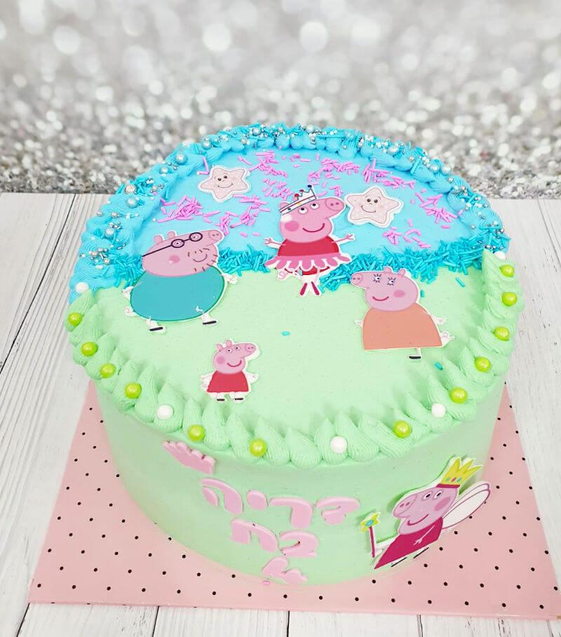 עוגת פפה מעוצבת