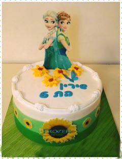 עוגת פרוזן של אנה ואלזה חדש