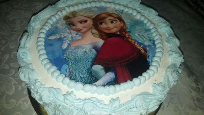 עוגת אנה ואלזה