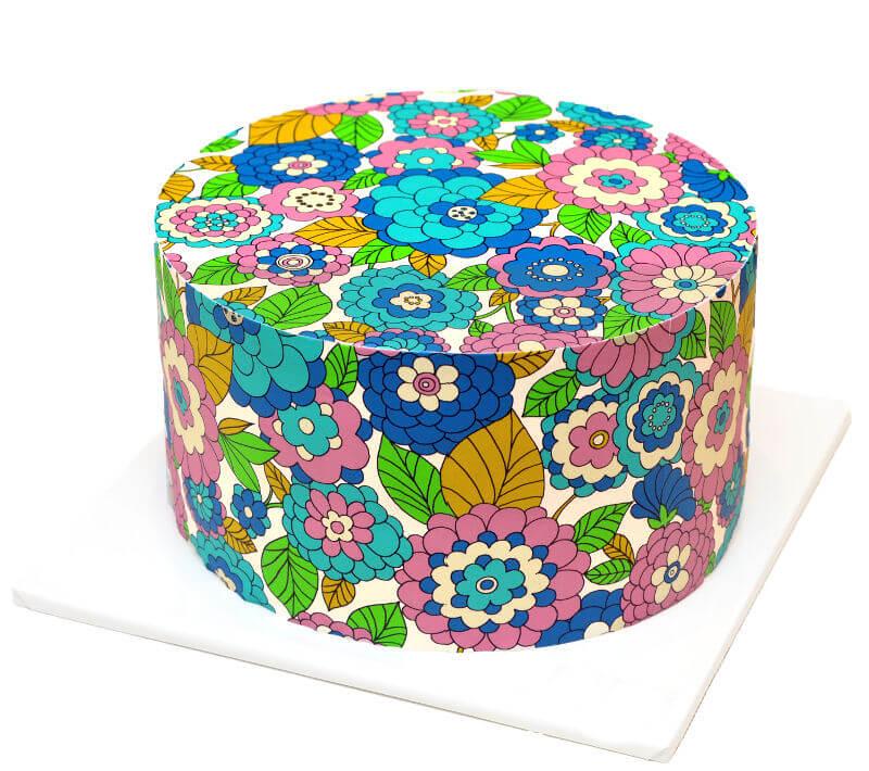 עוגת פרחים מיוחדת