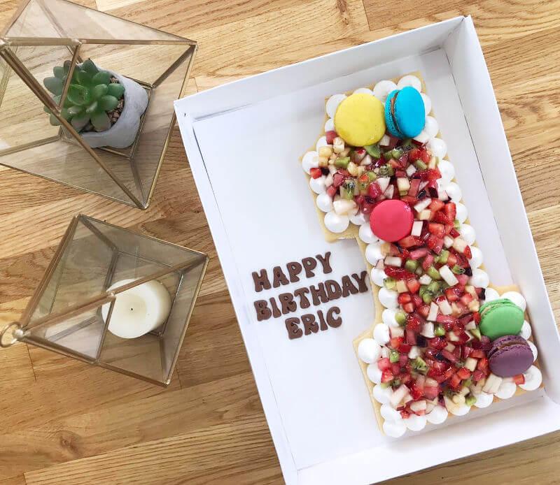 עוגת פריך שקדים פרווה לגיל שנה
