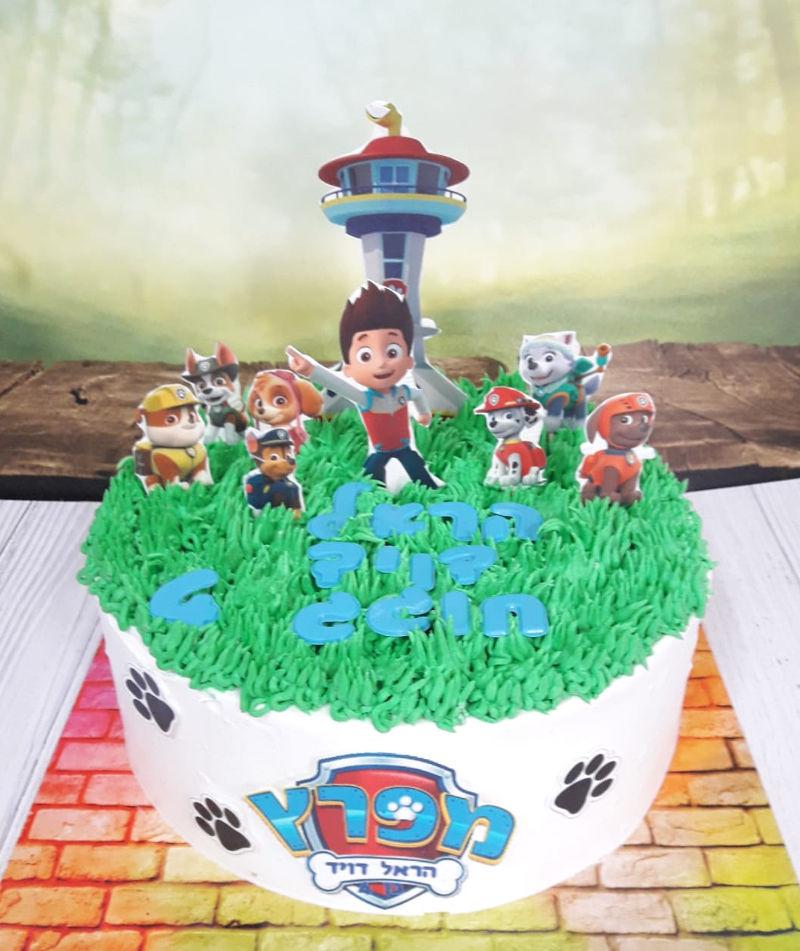 עוגת צוות החילוץ של מפרץ ההרפתקאות