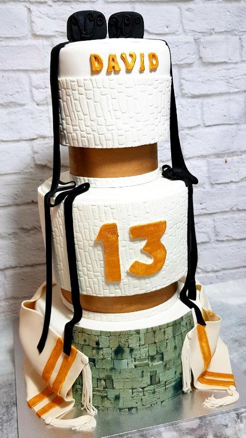 עוגת קומות בר מצווה