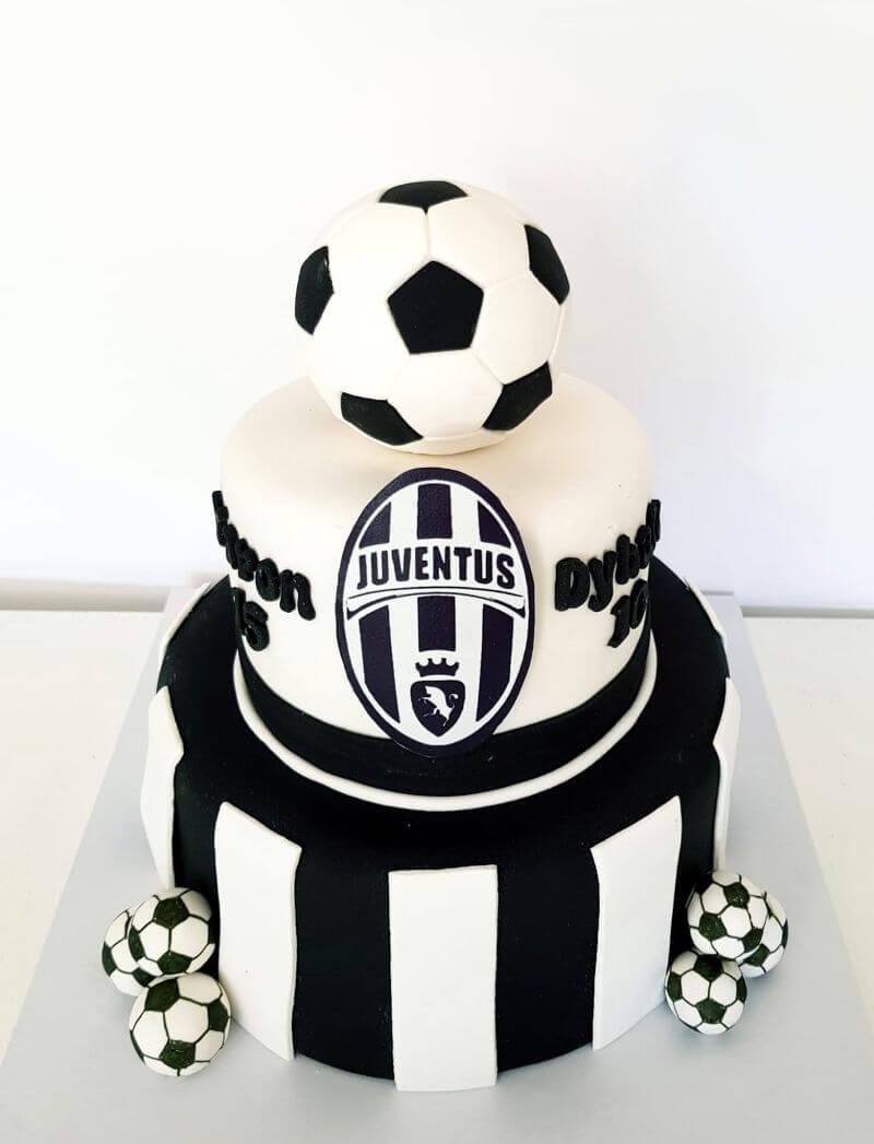 עוגת קומות כדורגל יובנטוס