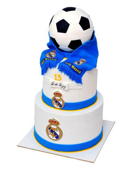עוגת קומות כדורגל ריאל מדריד
