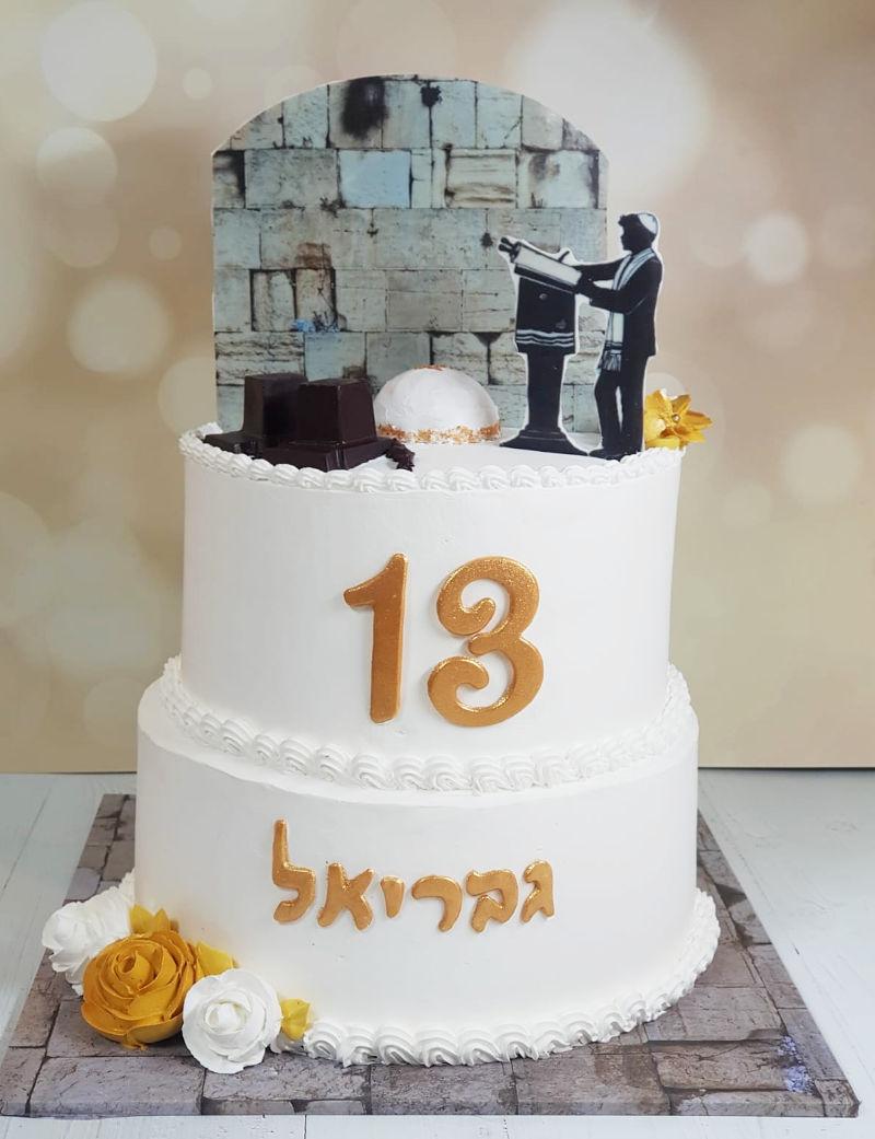 עוגת קומות לבר מצווה