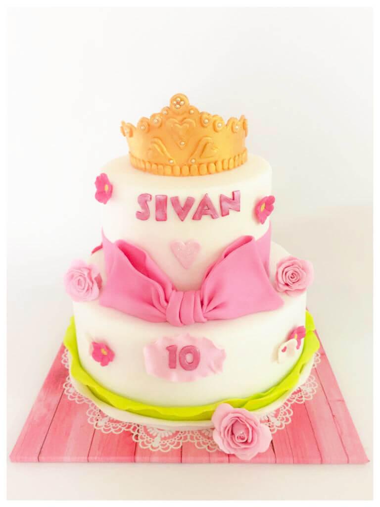 עוגת קומות לבת
