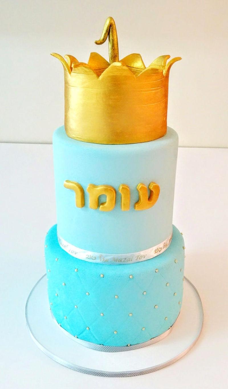 עוגת קומות לגיל שנה