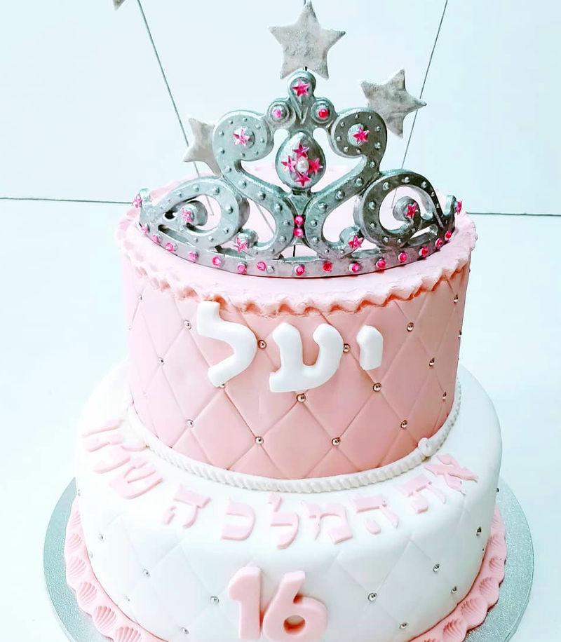 עוגת קומות לגיל 16