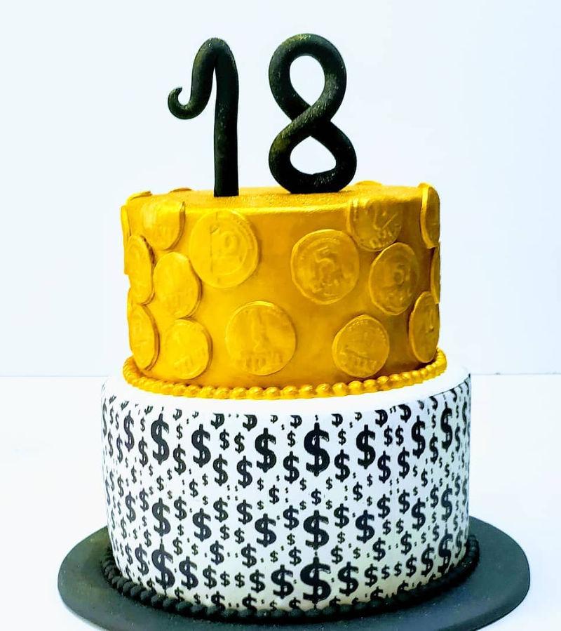 עוגת קומות לגיל 18