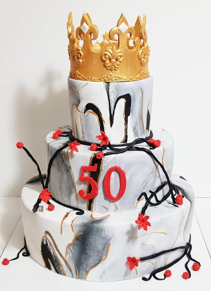 עוגת קומות לגיל 50