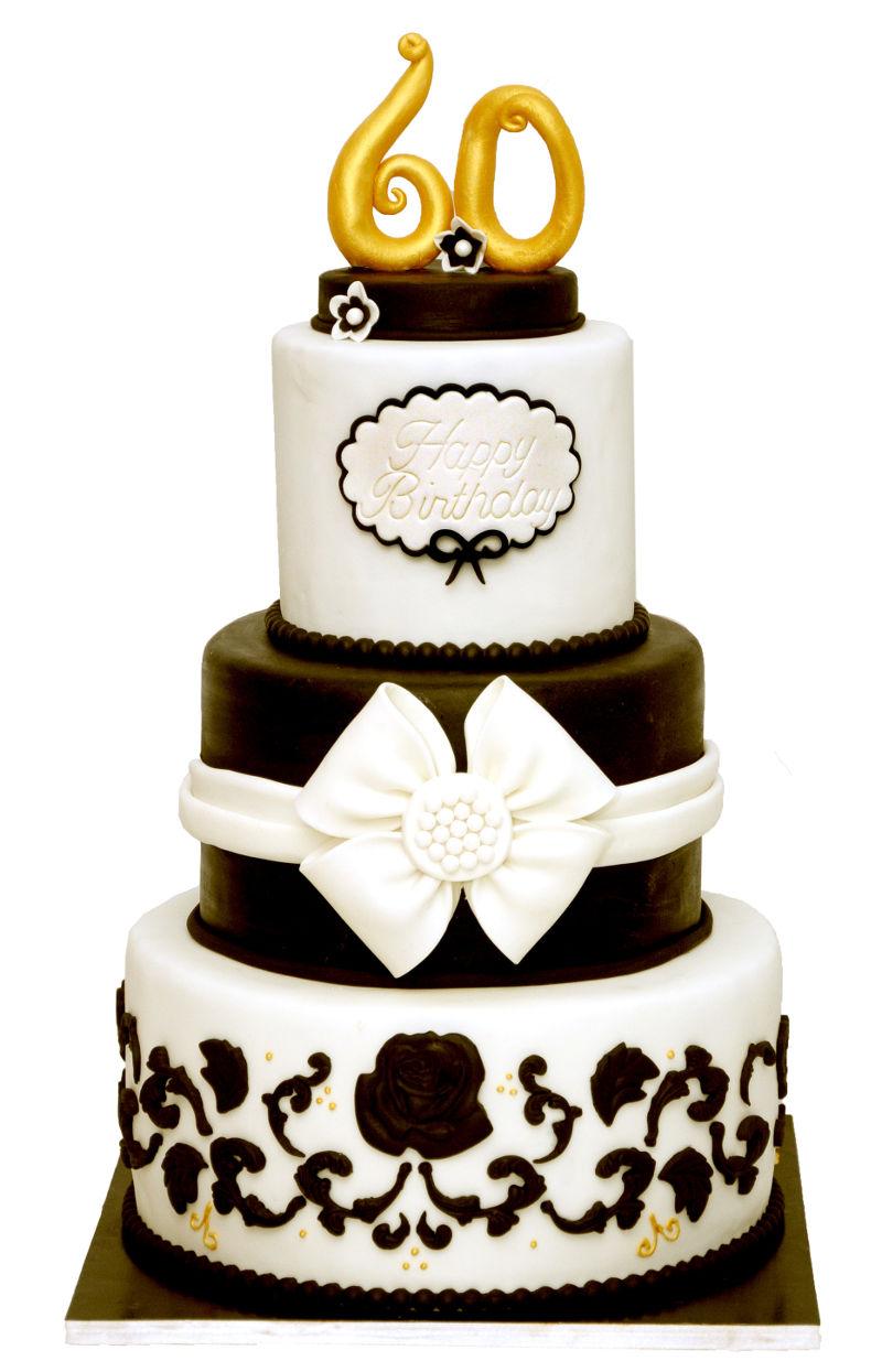 עוגת קומות לגיל 60
