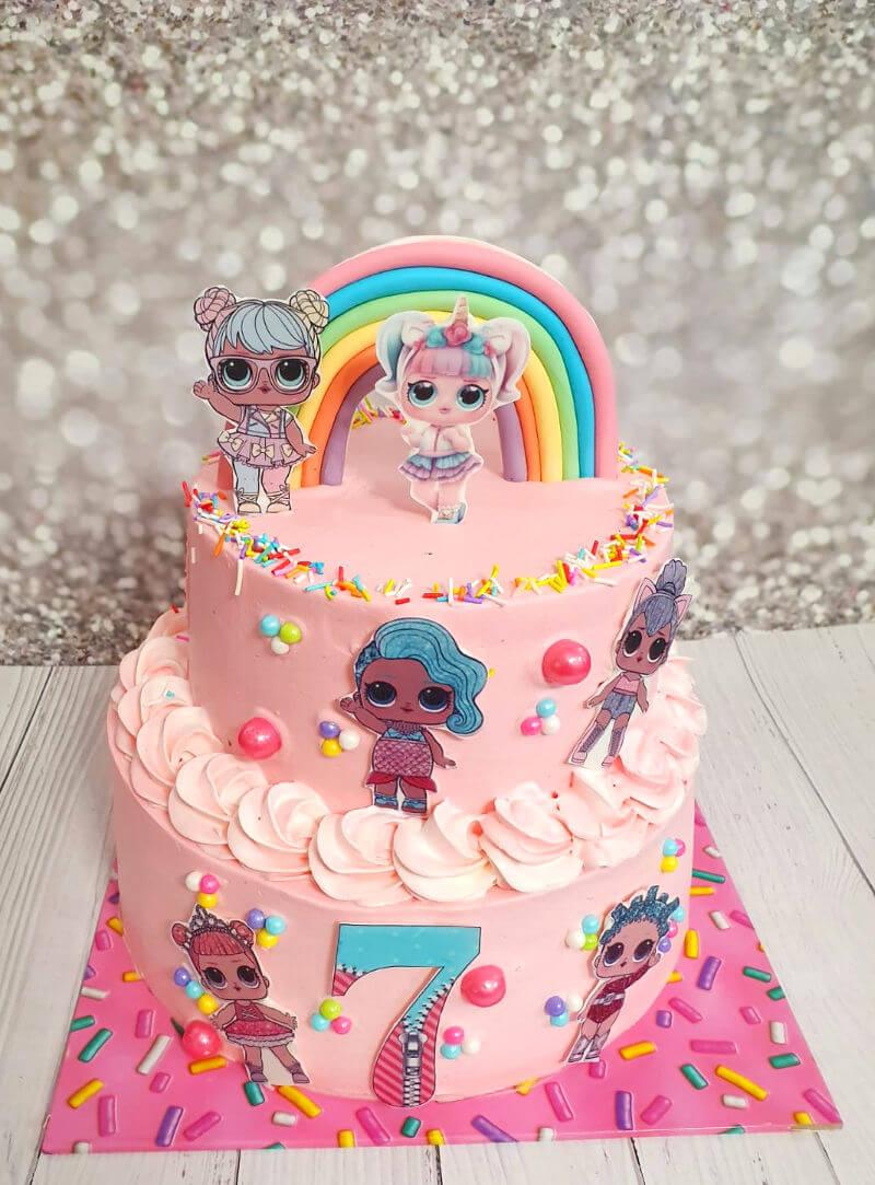 עוגת קומות מעוצבת LOL