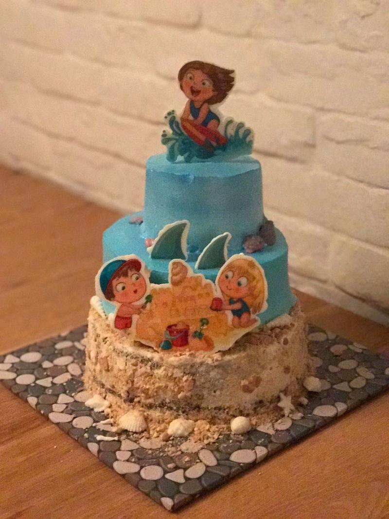 עוגת יום הולדת קייצית