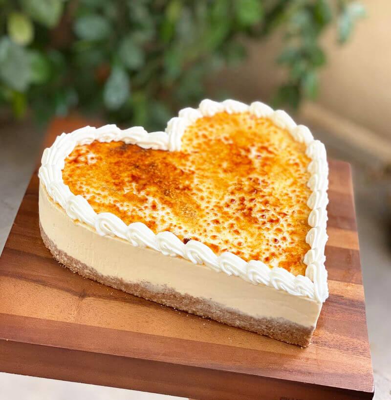 עוגת קרם ברולה