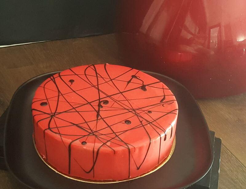 עוגת ראווה ססגונית