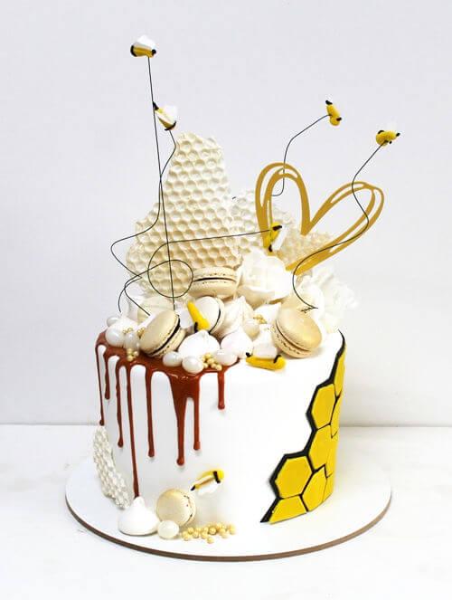 עוגת ראש השנה מעוצבת