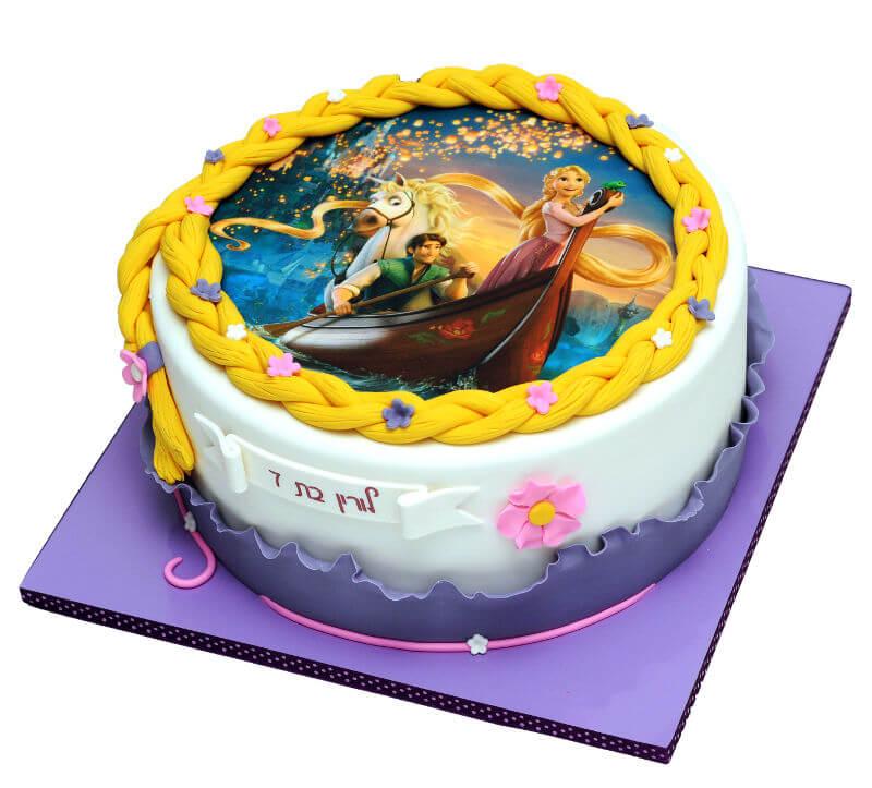 עוגת רפונזל הנסיכה