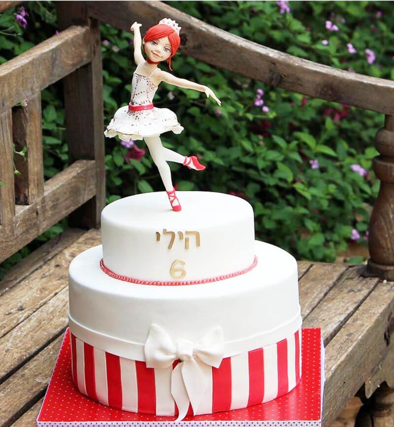 עוגת רקדנית