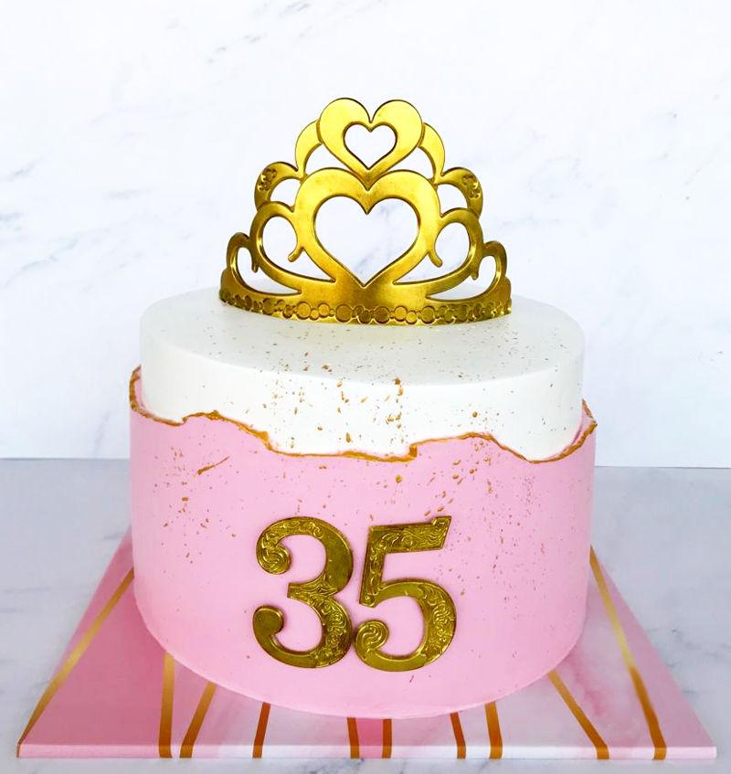 עוגת שבר FAULT LINE CAKE