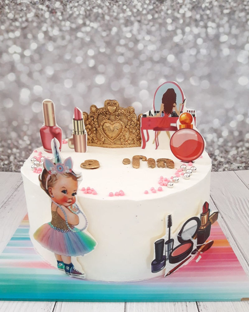 עוגת שופינג מיוחדת לבת