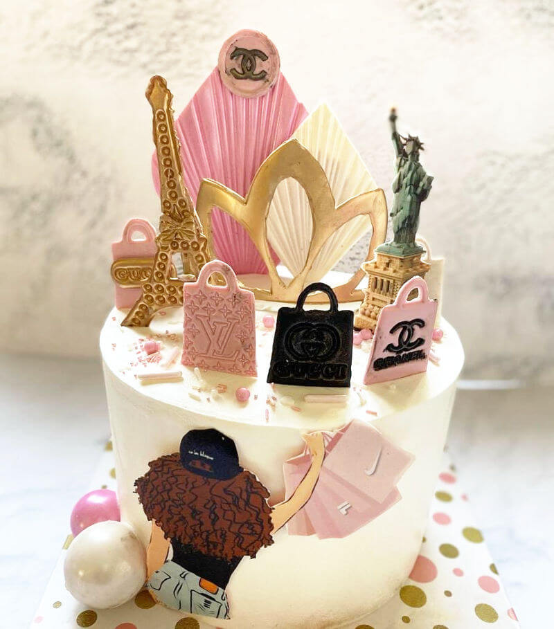 עוגת שופינג לגיל 12