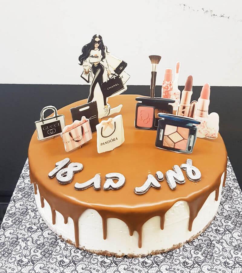 עוגת שופינג לגיל 18