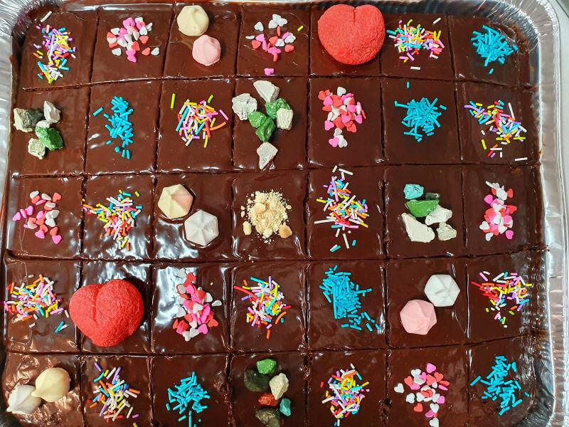 עוגת שוקולד לגן