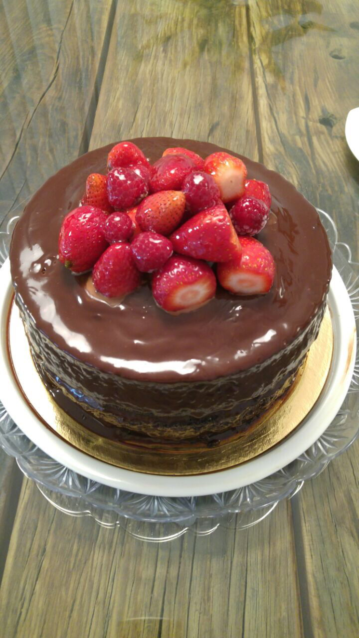 עוגת שוקולד נימוחה