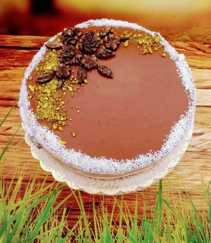 עוגת יום הולדת שחיתות שוקולד לפסח