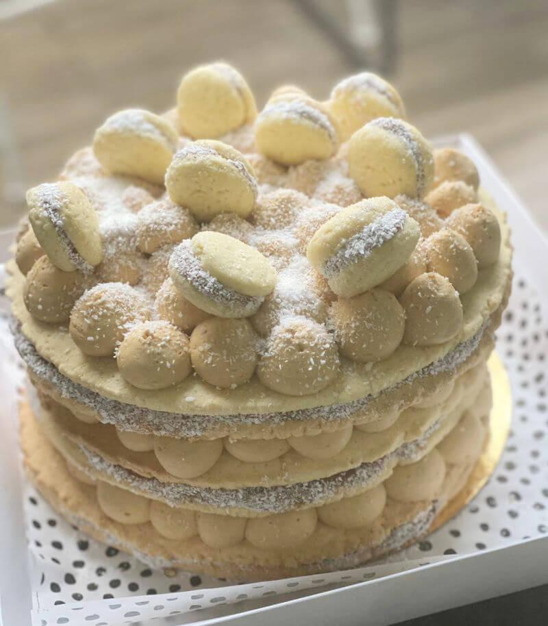עוגת שכבות אלפחורס