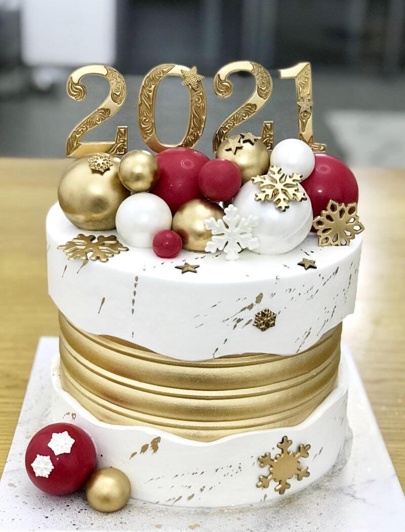 עוגת שנה חדשה 2021