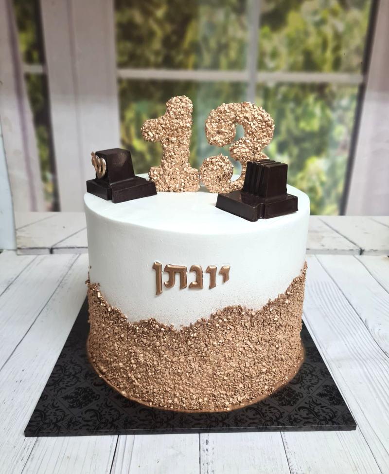 עוגת תפילין לבר מצווה