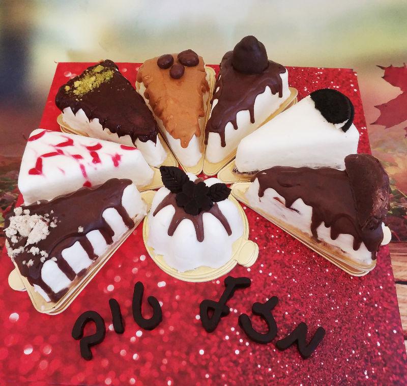 עוגת 8 הטעמים