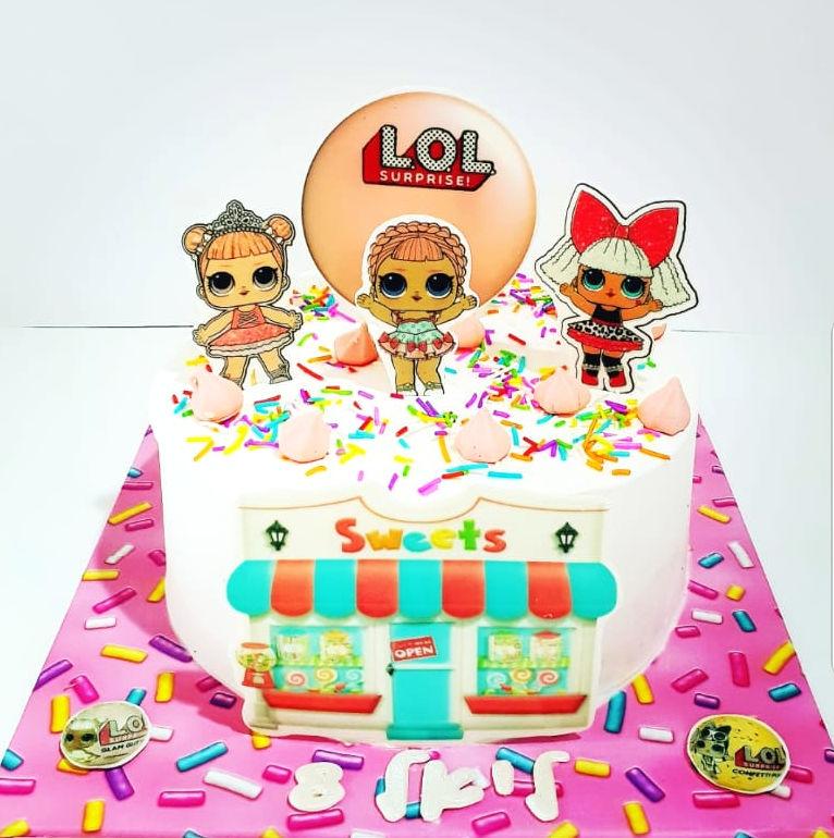 עוגה מיוחדת LOL