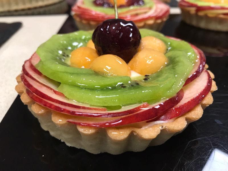 פאי פטיסייר ופירות טריים