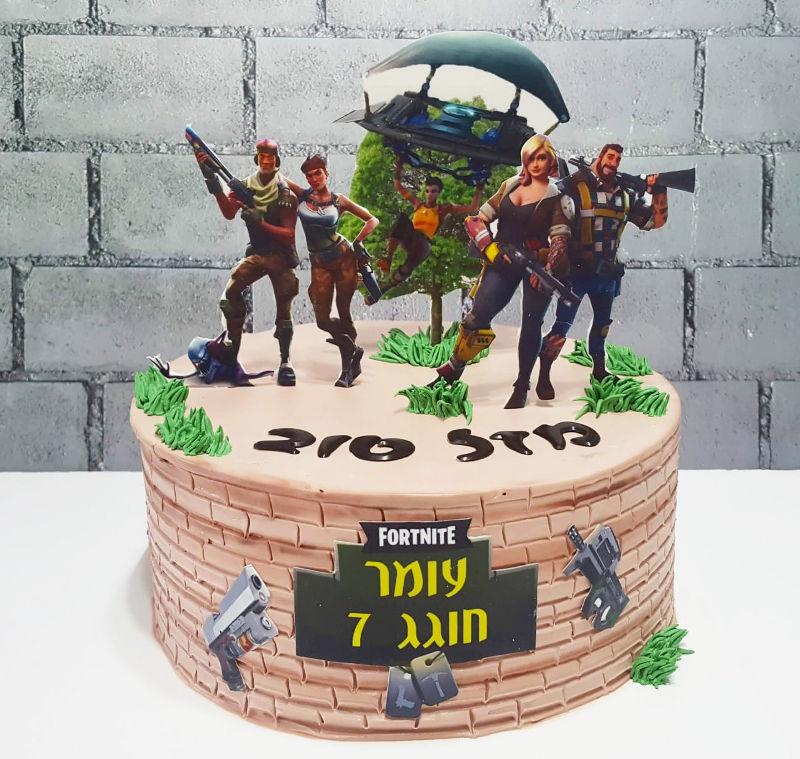 פורטנייט עוגה