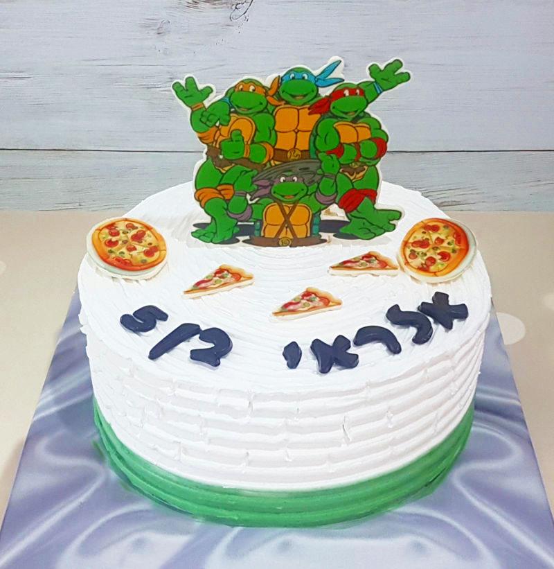 צבי הנינגה עוגה מעוצבת