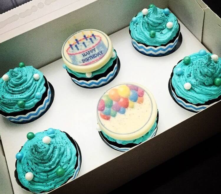 קאפקייקס ליום הולדת בנים